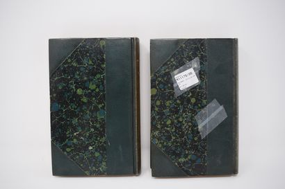 RIVAROL (Antoine de). OEUVRES CHOISIES. 2 vol., Paris, librairie des bibliophiles,...