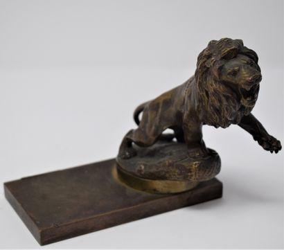 Maurice Roger MARX (1872-1956)  Lion, mascotte...