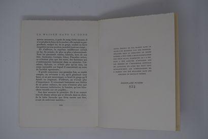 Ensemble de deux ouvrages des éd° DU GRAND CHÊNE, Lausanne :  LE RÊVE Zola Emile,...