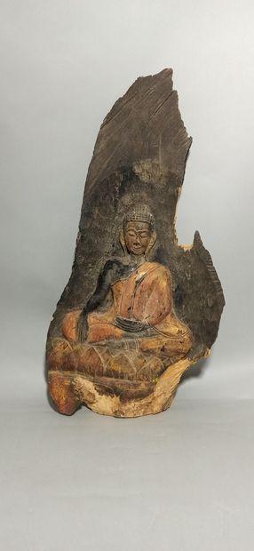 Asie du Sud Est  Bouddha en méditation sur...