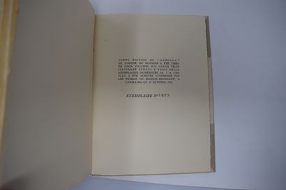 Ensemble de six ouvrages des éd° DU LIVRE MONTE-CARLO :  L'EMPREINTE DE DIEU Maxence...