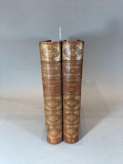 Rabelais, les oeuvres  Illustré par Gustave...