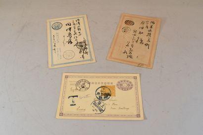 2 cartes Chine, écrites