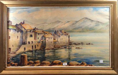 ASTRUC Paul (XXème siècle)  Saint-Florent...