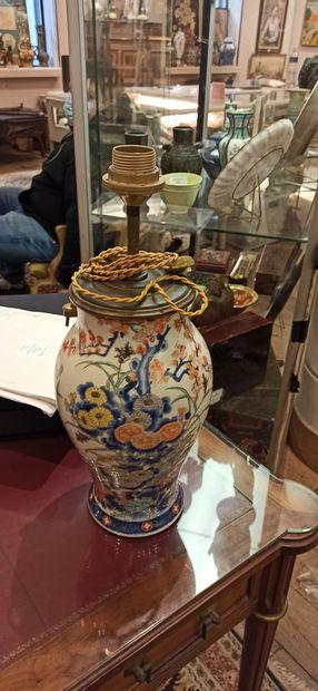 CHINE - DEBUT XXème SIECLE  Paire de vases...