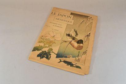 S. BING  Le Japon artistique, Documents d'Art...