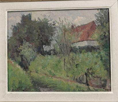 JOËTS Jules (1884-1959)  Maison Lahaye à...