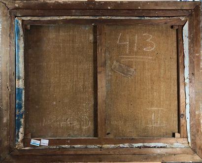 ECOLE MODERNE  Voiliers  Huile sur toile, signée en bas à droite Verryak?  H.: 57...