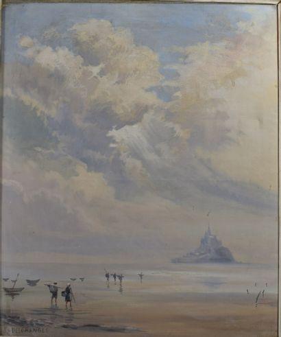 DESGRANGES G. (XX-XXI)  Vue du Mont St Michel...