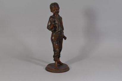 RONCOULET Ernest (1842-1918)  Jeune homme...