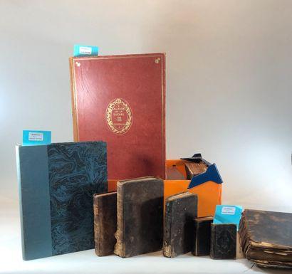 Petit lot de livres dont:  - Panorama de...
