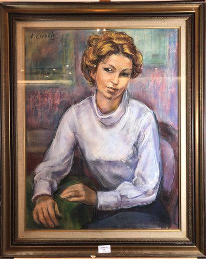 GIANELLI Antoine Marius (1896-1983)  Portrait...
