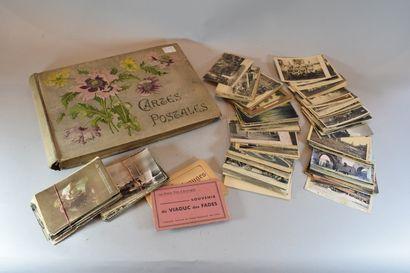 Album de cartes postales anciennes (200 pièces...