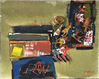 TURVILLE (De) Serge  1995  Huile sur toile...