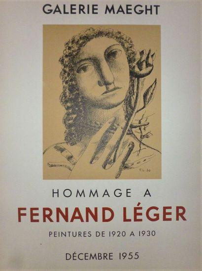 LEGER Fernand    Hommage à Fernand Léger,...