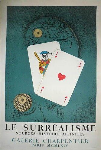 ERNST Max    1964  Affiche originale en lithographie....