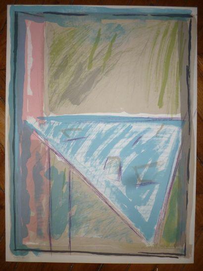 CASAMADA Albert Rafols  1982  Lithographie....