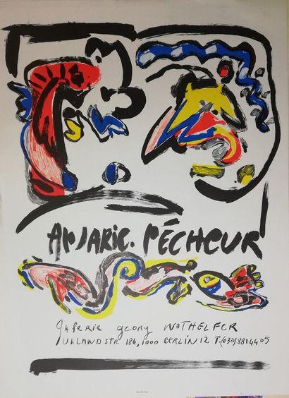 PECHEUR An-Marie  Pour la galerie GEORG à...