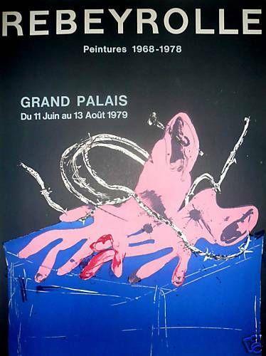 REBEYROLLE Paul  1978  Affiche originale...