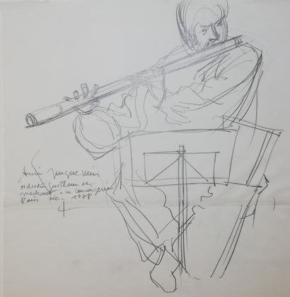 JACQUEMIN André  Orchestre à la conciergerie...
