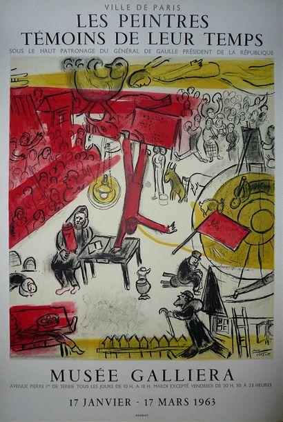 CHAGALL Marc  Affiche lithographique Mourlot,...