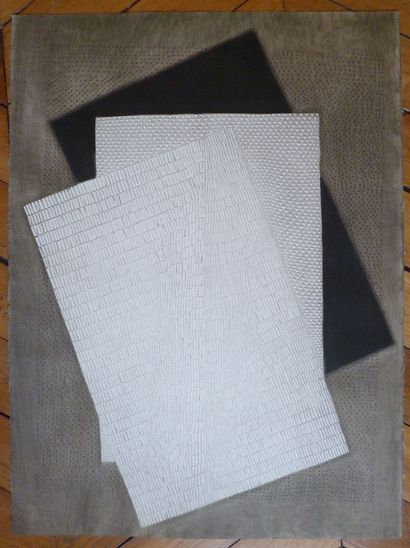 PIZA Arthur Luis  Gravure originale  Signée...