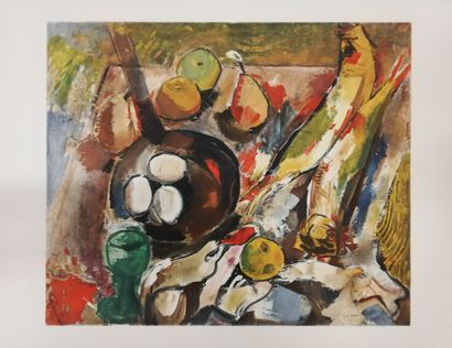 DUFRESNE Charles  Composition 1971  lithographie...