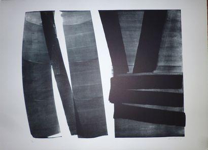 HARTUNG Hans  Lithographie  signée en bas...