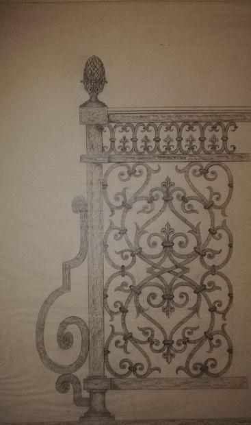 POILERAT Gilbert  Art et Métal. Grille ferronnerie....