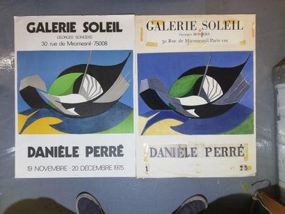 PERRE Daniel  1975  Maquette originale à...