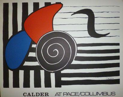 CALDER Alexandre  Exposition Columbus Ohio...