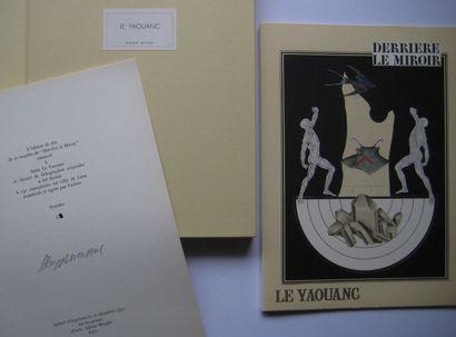 LE YAOUANC Alain  « Derrière le Miroir » 1970 édition luxe sur velin, signée, numérotée...