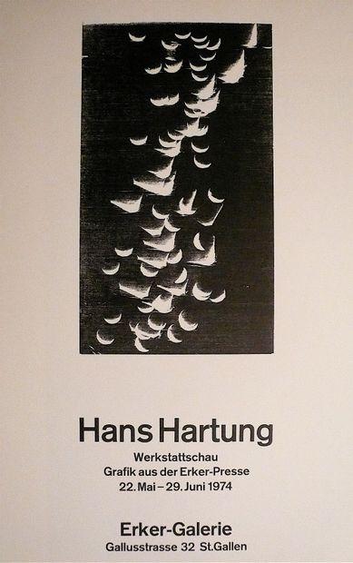 HARTUNG Hans  Affiche originale, réalisée...