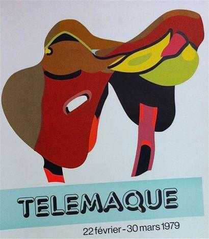 TELEMAQUE Hervé    1979  Affiche originale...