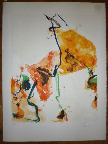 EN JONG Kim  1989  Lithographie  Signée en...