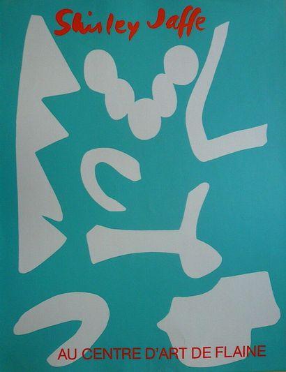 JAFFE Shirley    Affiche originale sérigraphie....