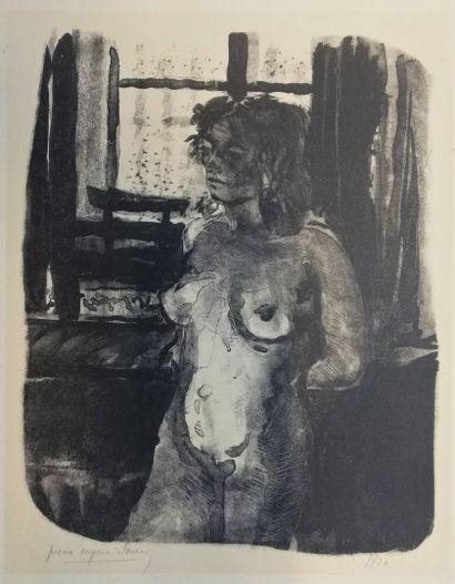 CLAIRIN Pierre-Eugène  lithographie imprimée...