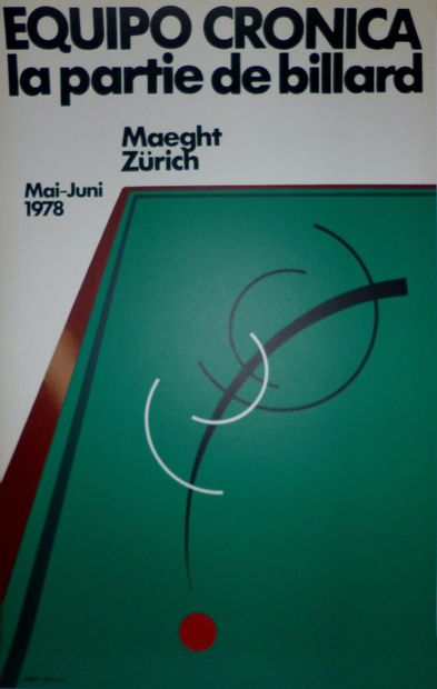 EQUIPO CRONICA    1978  Affiche en lithographie....