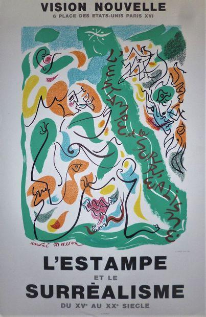 MASSON André    Affiche en lithographie....