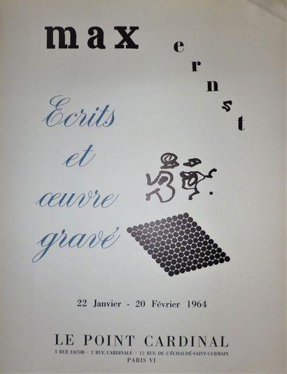 ERNST Max    Ecrits et oeuvre gravé 1964...