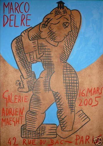 DEL RE Marco    2005  Afficheoriginaleen...