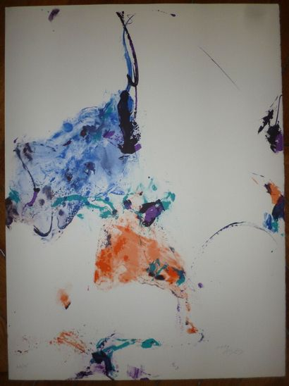 EN JONG Kim  1990  Lithographie  Signée en...