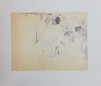 CASTILLO Jorge  1978  Gravure signée en bas...