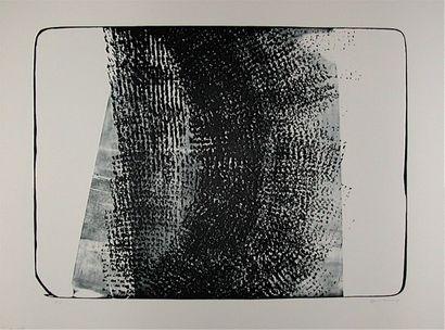HARTUNG Hans  Lithographie L-10- 1974  Signée...