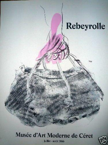 REBEYROLLE Paul  Affiche originale en lithographie....