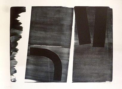 HARTUNG Hans  Lithographie originale 1974...
