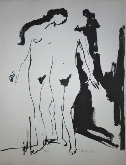 NICOIDSKI Robert-Louis  Lithographie originale...