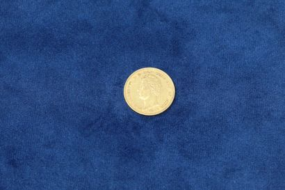 1 pièce en or de 20 Lire Charles-Albert 1849...