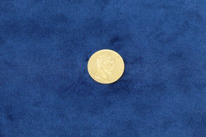 1 pièce en or de 20 Francs Charles X 1828...