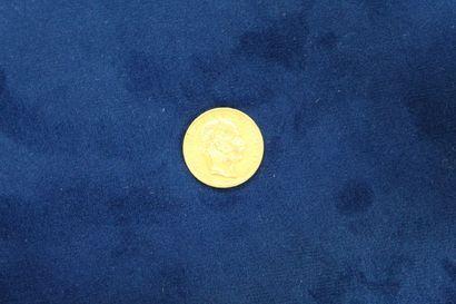 Pièce en or de 8 florins / 20 francs Franz...